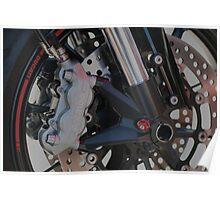 DUCATI 1100 EVO - BREMBO   Poster