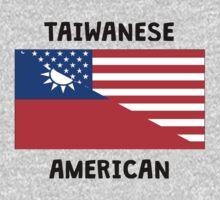 Taiwanese American Kids Tee