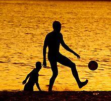 Golden Soccer Friends by felipecrp