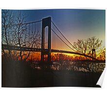 Verrazano - Narrows Bridge - New York City Poster