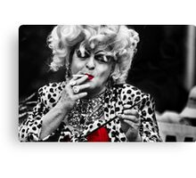 Drag Canvas Print