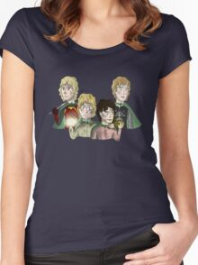 Return Of The King: The Hobbits Women's Fitted Scoop T-Shirt