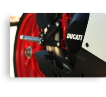 DUCATI 848 EVO - Swing Arm Canvas Print