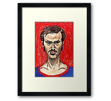 Portrait of the Artist in His Youth Framed Print