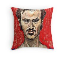Portrait of the Artist in His Youth Throw Pillow