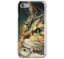 Cat and Mouse iPhone Case/Skin