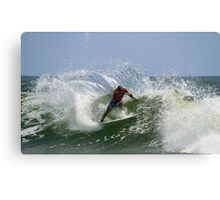 Kelly Slater at the Quiksilver Pro Canvas Print