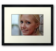 Holly RO Framed Print