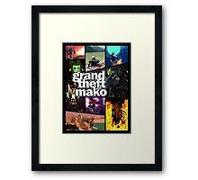 Grand Theft Mako Framed Print