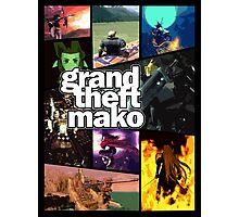Grand Theft Mako Photographic Print