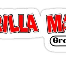 Gorilla Mask Graphics DK style Sticker