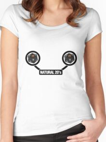 Natural 20's Women's Fitted Scoop T-Shirt