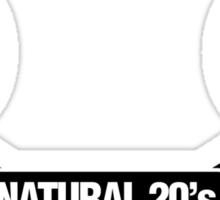 Natural 20's Sticker