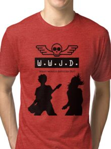 What Would Jeffster Do. Tri-blend T-Shirt