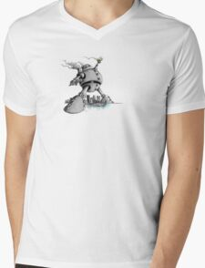 Steel City Colossus Mens V-Neck T-Shirt