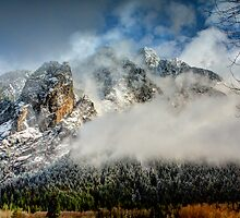 Misty Mountain by Dale Lockwood