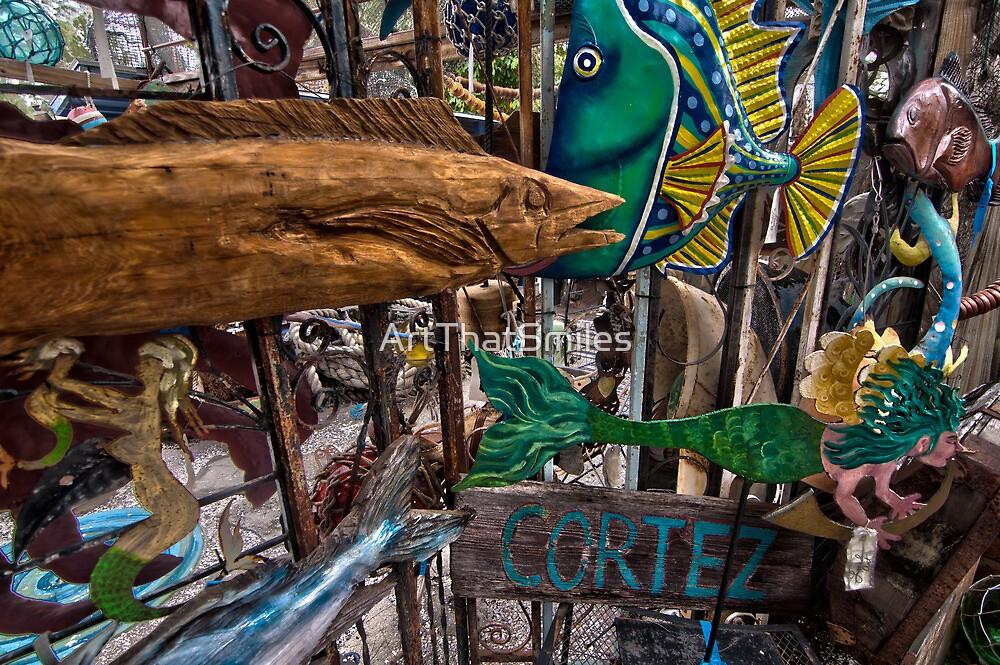 Cortez Fishing Village, Florida by ArtThatSmiles
