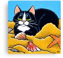 A Sandy Spot Canvas Print