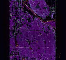 USGS Topo Map Washington State WA Maltby 242160 1953 24000 Inverted by wetdryvac