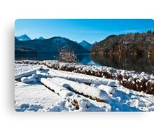 German lake Canvas Print