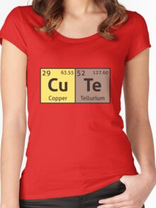 Periodic Table - Cute Women's Fitted Scoop T-Shirt