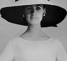 Yves Saint Laurent. Hat & Dress. by Ian A. Hawkins