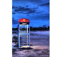 Night Line Photographic Print