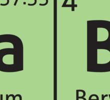 Periodic Table - Babe Sticker