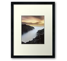 """The Hour Stands Still"" ∞ Fingal Head, NSW - Australia Framed Print"