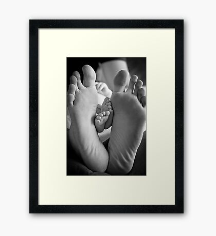 Father and Son #2 Framed Print