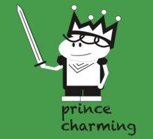 Prince Charming Cartoon Kids Tee