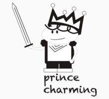 Prince Charming Cartoon Kids Clothes