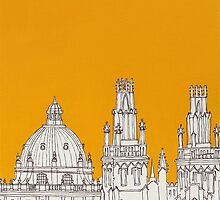 Oxford Rooftops by Adam Regester
