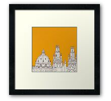 Oxford Rooftops Framed Print