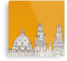 Oxford Rooftops Metal Print