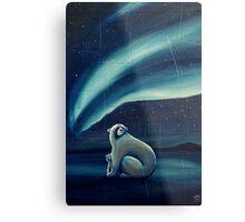 Polar Bears Metal Print