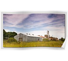 Taree Peters Factory nsw Poster