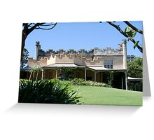 Vaucluse House, Sydney, NSW Greeting Card