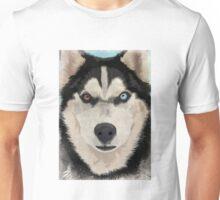Husky portrait Unisex T-Shirt