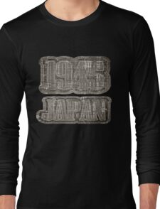Japan 1945 Vintage T-shirt Long Sleeve T-Shirt