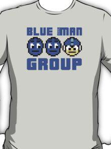 Blue Mega-Man Group T-Shirt