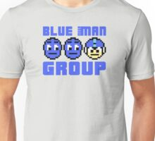 Blue Mega-Man Group Unisex T-Shirt