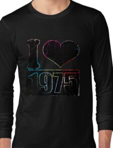 Vintage I heart 1975 T-shirt Long Sleeve T-Shirt