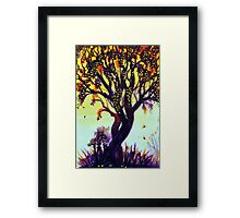 Jewels of Autumn Framed Print