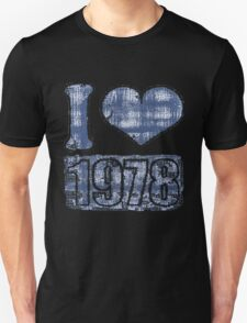 I heart 1978 Vintage T-Shirt