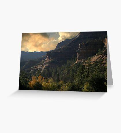 Sedona  Sunrise Greeting Card