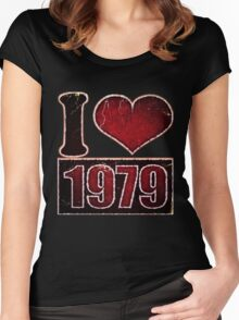I heart 1979 Vintage Women's Fitted Scoop T-Shirt
