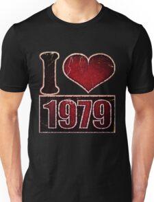 I heart 1979 Vintage Unisex T-Shirt