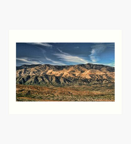 Arizona Lonesome Art Print