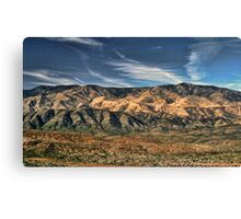Arizona Lonesome Canvas Print